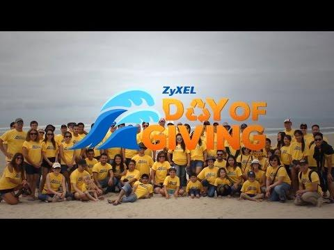 ZyXEL Day Of Giving 2015 Recap