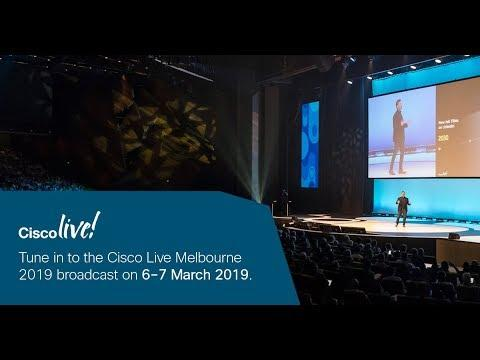 Cisco Live Melbourne 2019 Broadcast Day 2