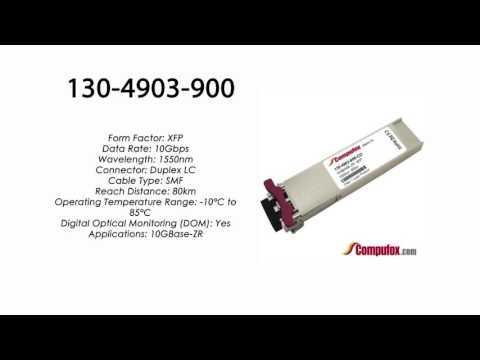 130-4903-900  |  Ciena Compatible 10GBASE-ZR XFP 1550nm 80km SMF