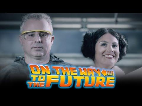 Funniest Tribute Ever! Back To The Future, Oct. 21 2015 By Mellanox