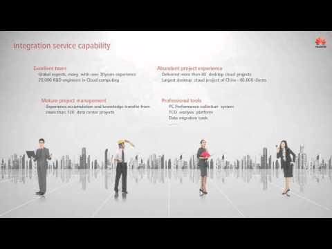Huawei Desktop Cloud Integration Service
