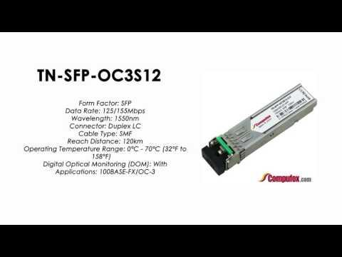 TN-SFP-OC3S12   (Transition 100% Compatible Optical Transceiver)