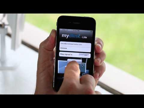 Introducing The Mydlink IPhone App