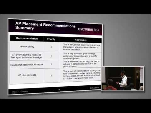 Airheads Vegas 2014 Breakout Video - WLAN Design For Location, Voice & Video