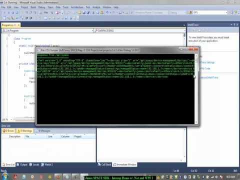 Junos Space SDK :: Starter Kit App W/ .net And Windows Presentation Foundation (WPF) 4.0