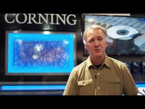 NAB 2016 - Corning Optical Cables Used For Thunderbolt Networking