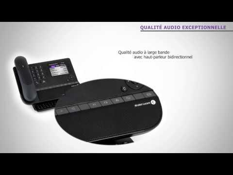 Alcatel-Lucent Premium DeskPhone En 360° - French