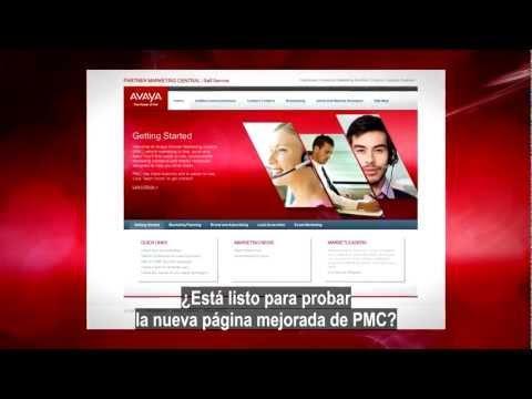 Avaya Partner Marketing Central - PMC (Spanish - Español)