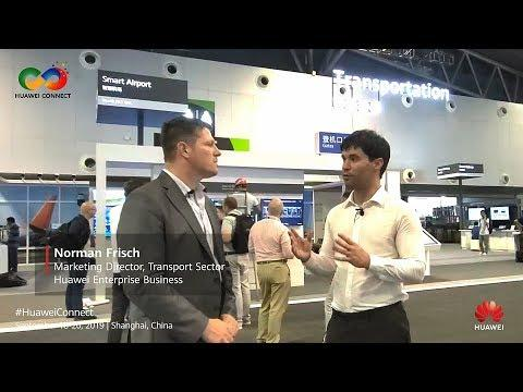 Introducing Smart Transportation At HUAWEI CONNECT 2019