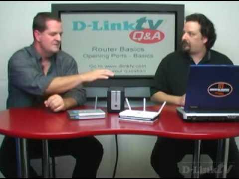 D-LinkTV Q&A Episode 4: Router Basics: Opening Ports