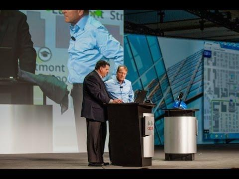 Cisco Partner Summit 2014 Global General Session Demo: Internet Of Everything User Experience