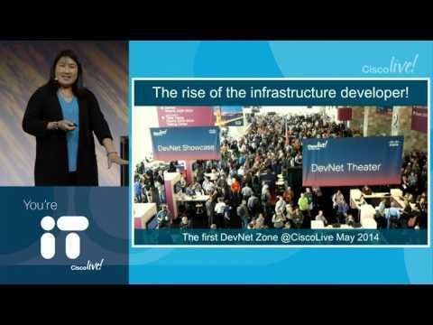 Cisco Live 2017: Innovation: The Rise Of The Network-Powered Developer - Susie Wee