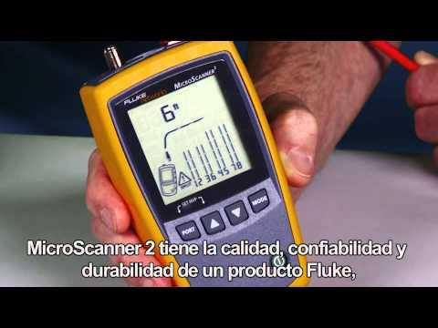 MicroScanner2 - Spanish Language: By Fluke Networks