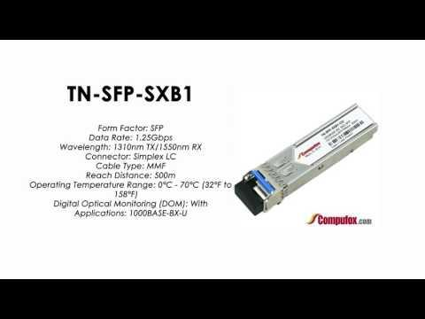 TN-SFP-SXB1   Transition Compatible 1000BASE-BX SFP 1310nmTx/1550nmRx MMF 500m