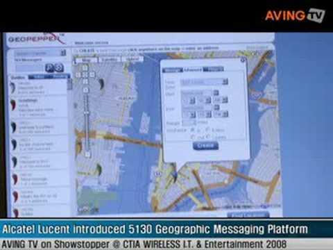 Alcatel Lucent Introduced 5130 Geographic Messaging Platform