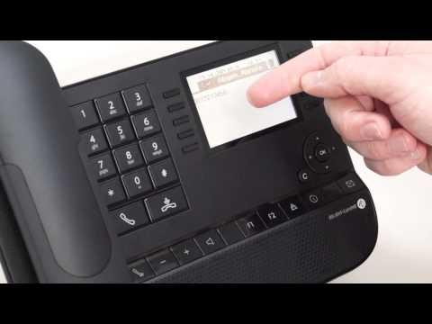 Alcatel-lucent 8029 user manual