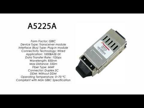 A5225A  |  HP Compatible 1000Base-SX GBIC 850nm 550m