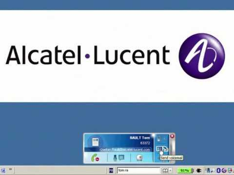 Alcatel-Lucent OmniTouch 8600 MyInstant Communicator German