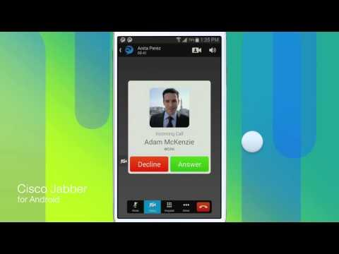 Cisco Jabber For Android 10.5: Voice And Video Calls