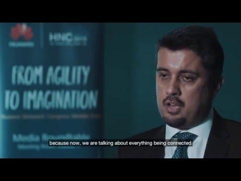 Interview: Faisal Ameer Malik, Huawei At The Huawei Network Congress Middle East 2015