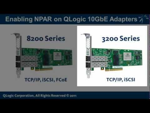 QLogic KnowHow:  Enabling NPAR On QLogic 10GbE Adapters