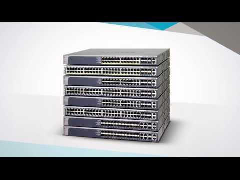 NETGEAR ProSAFE M5300 Switch Series Product Tour