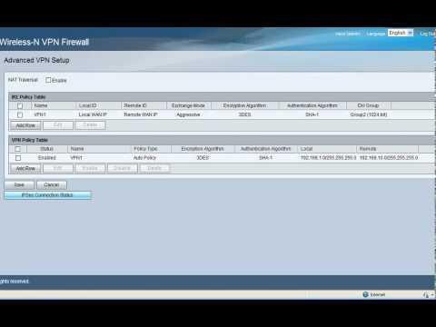 RV130W To RV325 Router Site To Site IPsec VPN Configuration