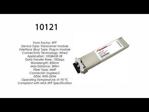 10121  |  Extreme Networks Compatible 10GBASE-SR XFP 850nm 300m MMF
