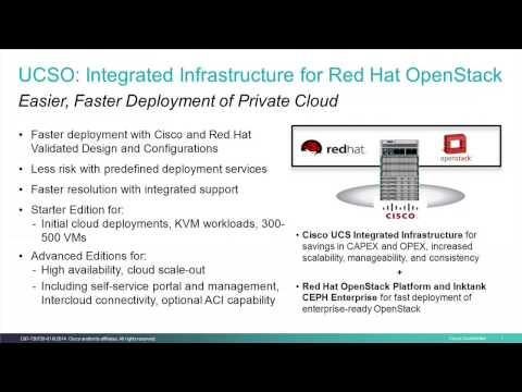 Cisco UCS For Red Hat OpenStack