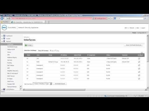 How To Remotely Manage A SonicWALL Over A Site To Site VPN Tunnel