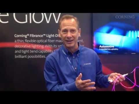 Corning® Fibrance™ Light-Diffusing Fiber At LIGHTFAIR 2014