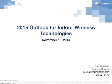 Corning And ABI Webinar: 2015 Outlook For Indoor Wireless Technologies