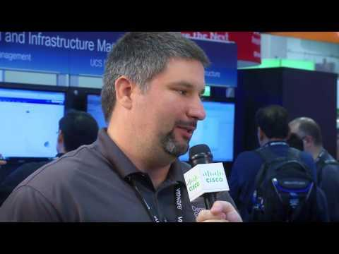 Cisco Roving Reporter Lauren Malhoit Talks Community With Dennis Smith At VMworld 2014