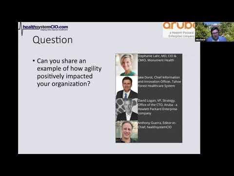 How Network Agility Enhances Outcomes (Sponsored By Aruba - A Hewlett Packard Enterprise Company)