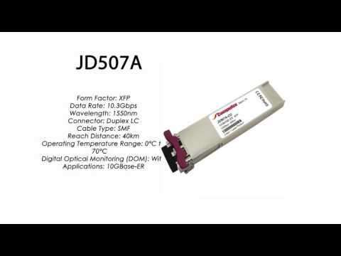 JD507A  |  HP Compatible 10GBase-ER XFP 1550nm 40km