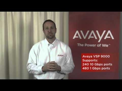 Avaya Virtual Services Platform 9000