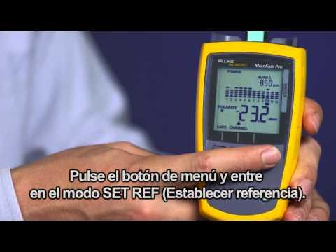 MultiFiber Pro- Optical Power Meter And Light Source, Spanish Language: By Fluke Networks
