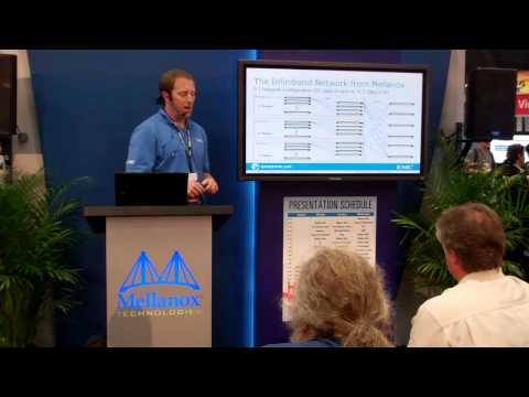 EMC Greenplum Presenting At The Mellanox Booth At VMworld 2012