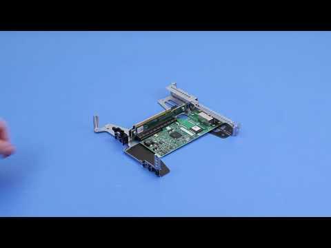 DellEMC PowerEdge R340: Remove/Install PCI Card And Riser