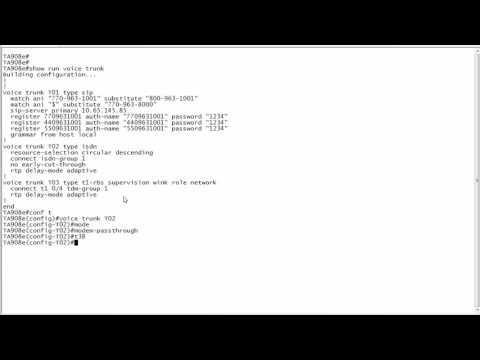 ADTRAN - Configuring T.38 Fax Protocol