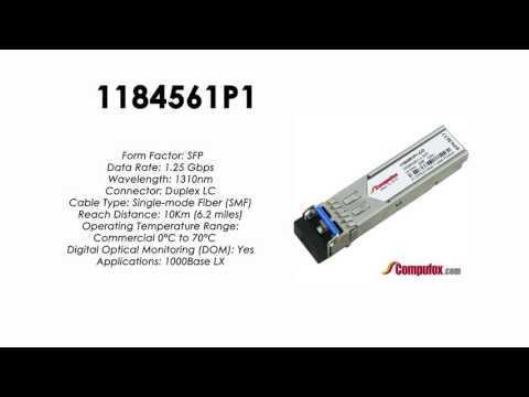 1184561P1  |  Adtran Compatible 1Gbps 1310nm 10km SFP