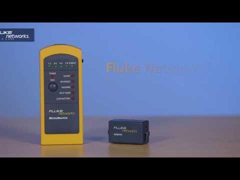 Fluke Networks MicroMapper Handheld Cable Tester & Verifier