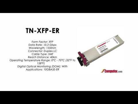 TN-XFP-ER  |  Transition Compatible 10GBASE-ER XFP, 1550nm SMF 40km