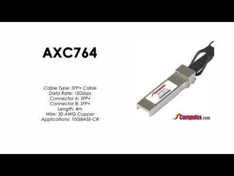 AXC764  |  Netgear Compatible 4m Direct Attach SFP+ Cable