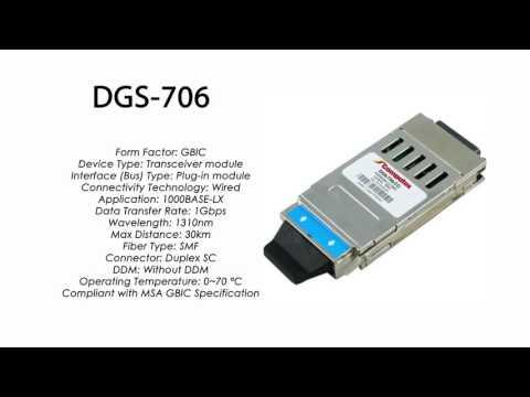 DGS-706  |  D-Link Compatible 1000BASE-LX GBIC 1310nm 30km
