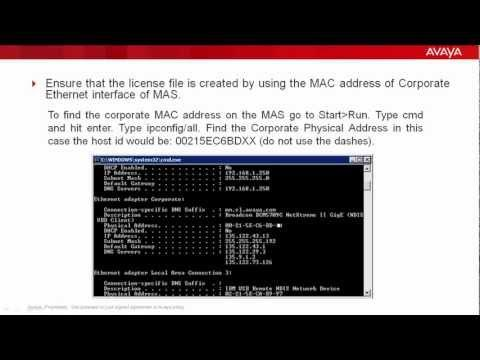 Step By Step Procedure To Resolve License Issues With Avaya Modular Messaging 5.2