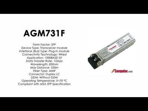 AGM731F  |  Netgear Compatible 1000BASE-SX 850nm 550m SFP