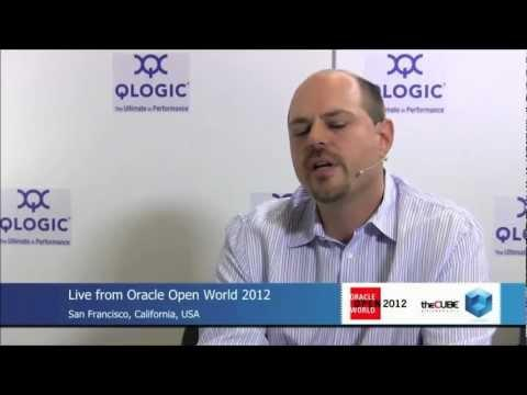 QLogic Mt. Rainier Demo - 5X Performance Improvement For Oracle RAC W/no Infrastructure Changes