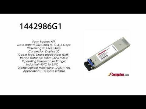 1442986G1  |  Adtran Compatible 11.3G DWDM XFP 1542.14nm 80km LC