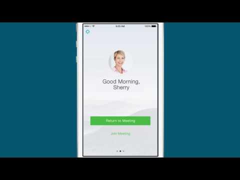 Join And Attend A Meeting With Cisco WebEx Mobile